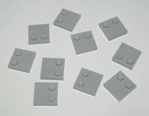 Lego ® Lot x10 Plaques 2x2 Plate with Studs on Edge Choose Color 33909 NEW