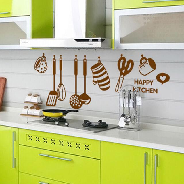 Removable Art Design Vinyl Wall Sticker Paper Home Decor For Kitchen