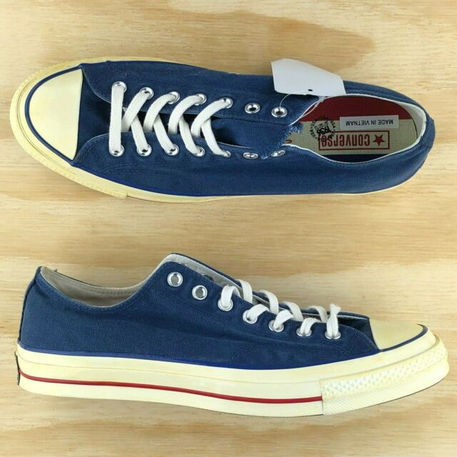 CONVERSE CHUCK TAYLOR 70 OX SZ 11 OPTICAL WHITE RED BLUE 1970 ALL STAR 149448C