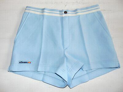 Focoso Vintage 80 90 Ellesse Shorts Xs S 46 Pantaloncini Tennis Azzurro Mcenroe Borg