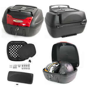 Top-Case-Box-40-LT-Universal-Touring-Motorcycle-Rack-Scooter-Luggage-Quad