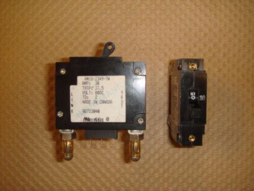 AM1-Z349-7W HEINEMANN 30 AMP CIRCUIT BREAKER