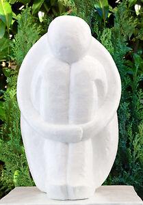 sculpture en pierre type Single blanc Sculpture moderne décoration ...