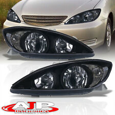 Black Clear Driving Head Lights Lamps Assembly Lh Rh For 2002 2004 Toyota Camry