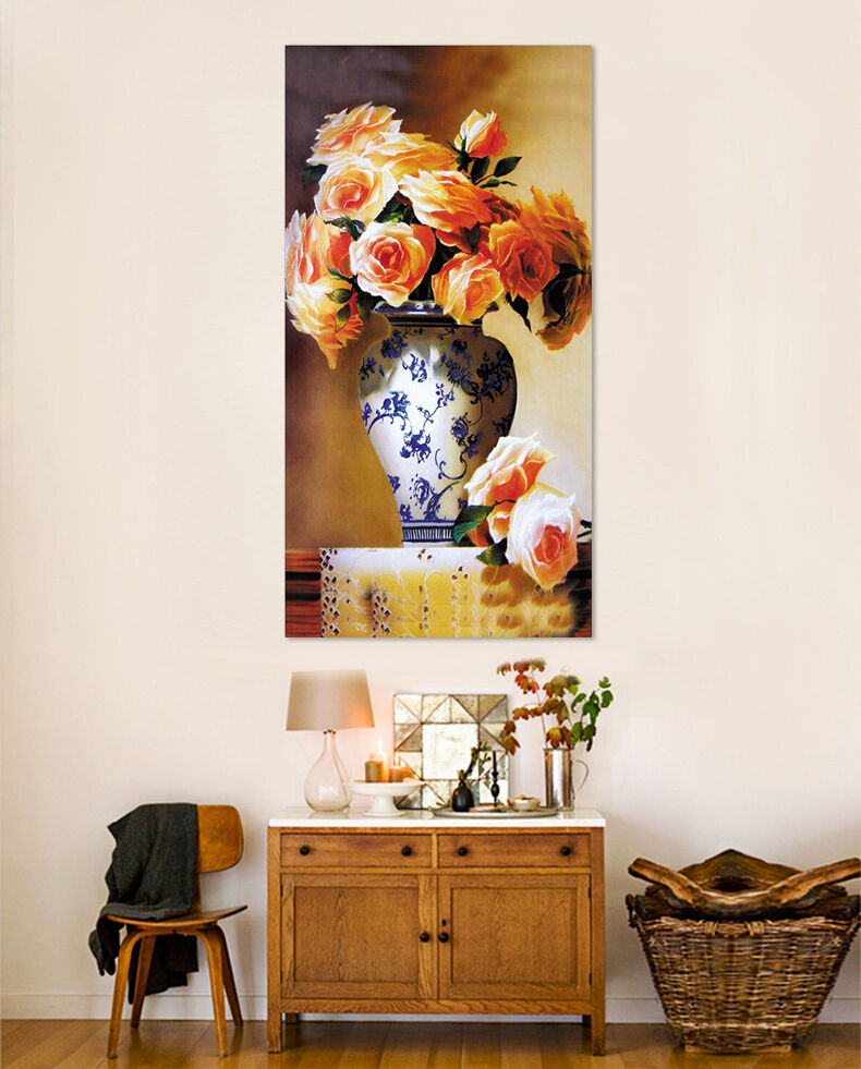 3D Vasen, bluemen  Fototapeten Wandbild Fototapete Bild Tapete Familie AJSTORE DE