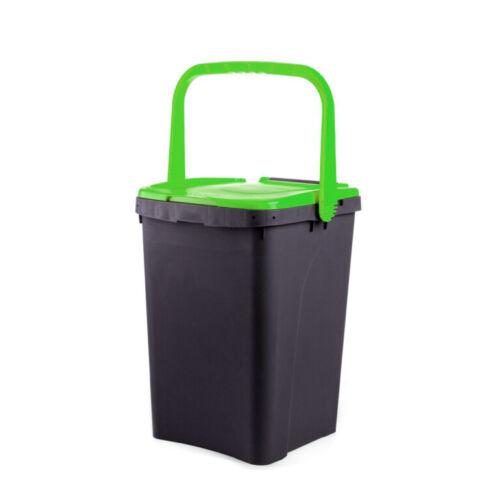 Pattumiera ecologica ecoplus con manico 20Lt 35Lt 50Lt Ecoplast differenziata