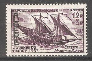 Algérie Française 1957, Navire, Navires, Maritime Service Postal, Sc B87, Très Fine Neuf Sans Charnière **-s,maritime Postal Service,sc B87,vf Mnh** Afficher Le Titre D'origine