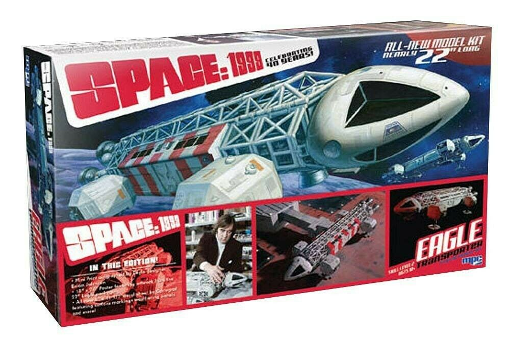 Space 1999 Model Kit Special Eagle Transporter 55cm 1 48 Mpc Space Autograph