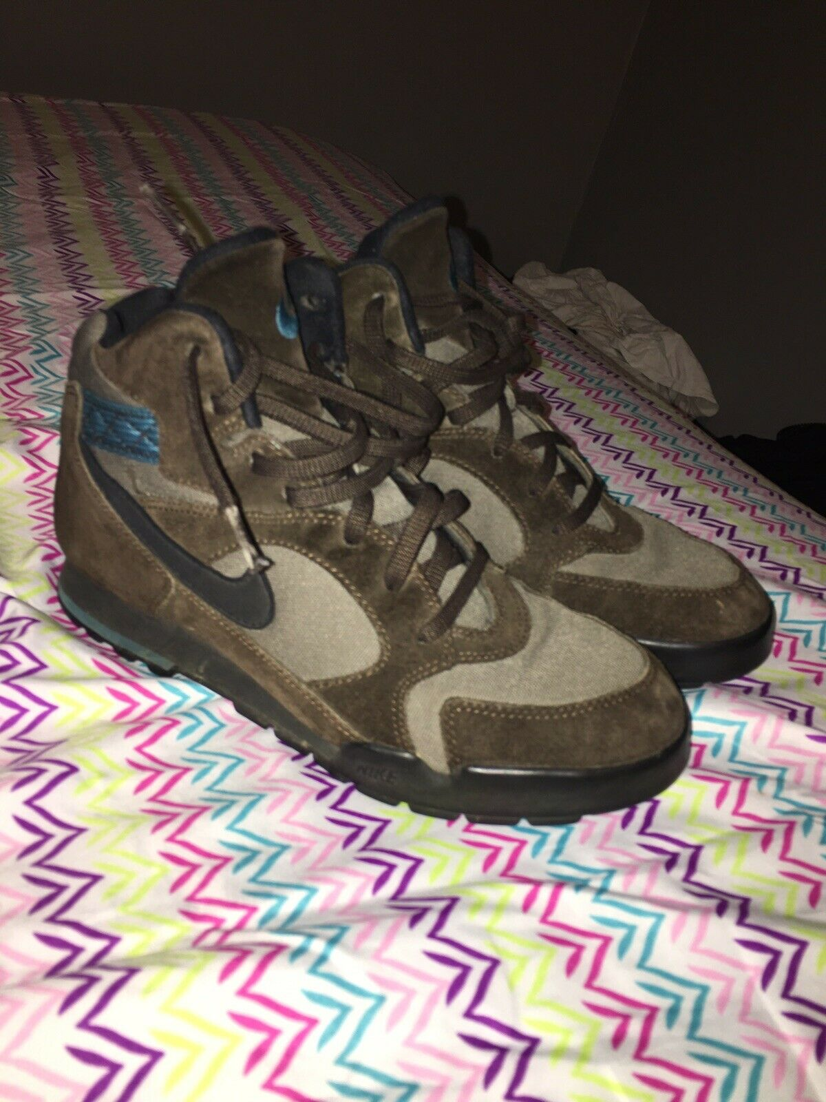Vintage 90s Nike ACG Hiking Boots Size 8
