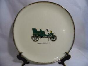 vintage-SUN-LURE-by-Crooksville-China-USA-1903-CADILLAC-automobile-10-034-PLATE
