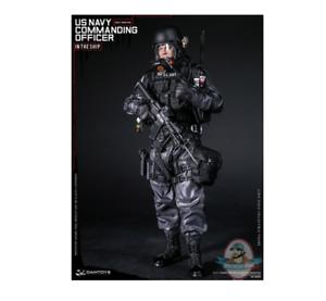 Dam 1 6 Elite Series Navy Commanding Officer Figure DAM-78050