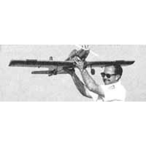 Bauplan Kwik Fli Modellbauplan Modellbau WM-Siegermodell /'67