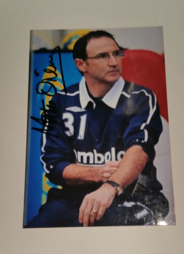 "Martin O'Neill signed autograph 6""x4"" photo Sunderland manager"