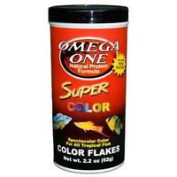 Omega One Super Color Flakes, 2.2 Oz., New, Free Shipping