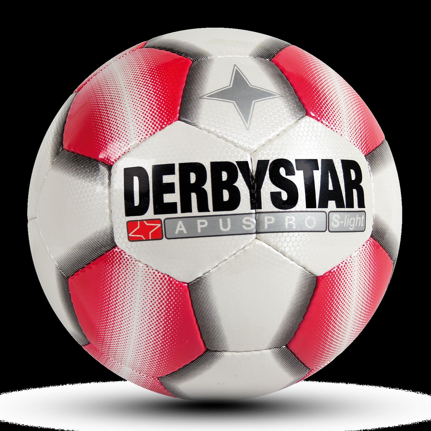 10 Derbystar Fußbälle APUS Pro S-Light, Gr. 4