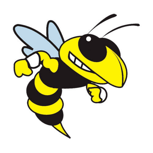 12 yellow jackets temporary tattoos school mascot face ebay rh ebay com yellow jacket clip art free downloads Yellow Jacket Football Clip Art
