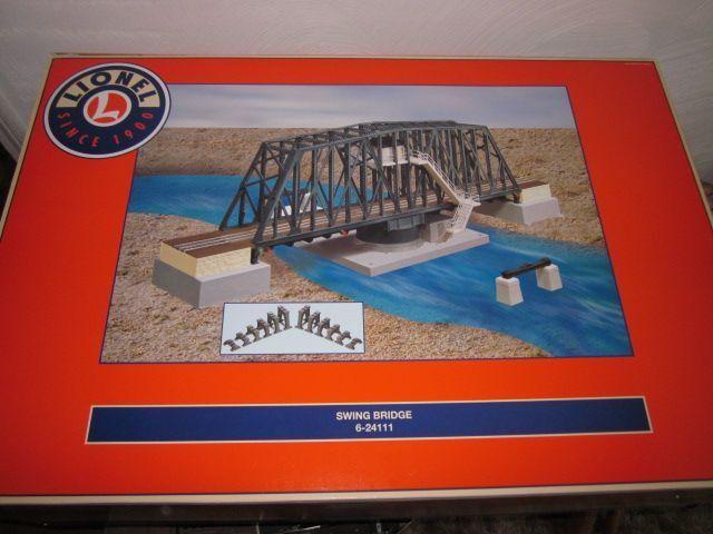 Lionel Trains 6-24111 Operating Swing Bridge Accessory MIB