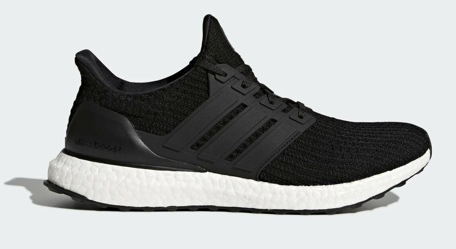 Adidas para hombre Ultraboost Negro Talla 10 Calzado para Correr Zapatillas zapatillas