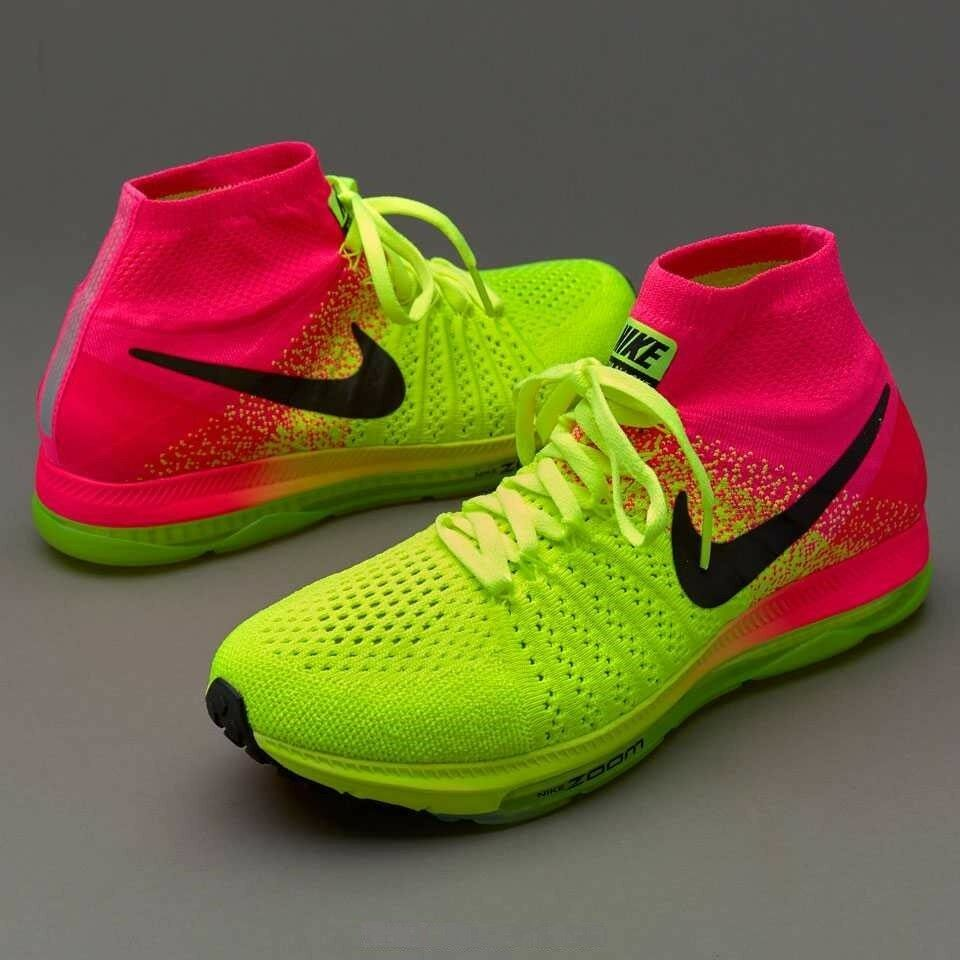 NIKE ZOOM ALL OUT FLYKNIT OC Running Shoes Trainers Gym Various Sizes - RRP £160