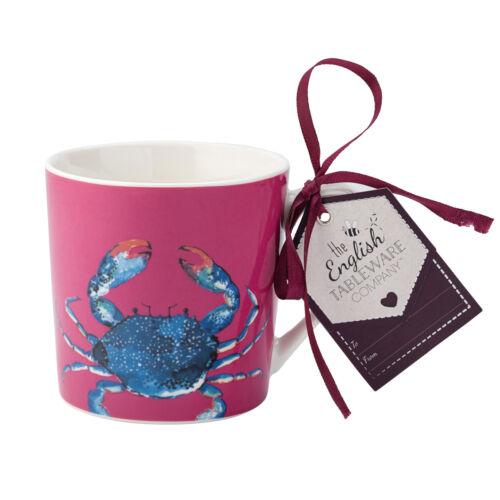 Plat du jour Mug crabe Ocean Poisson Couleur Tasse à café English Tableware Co