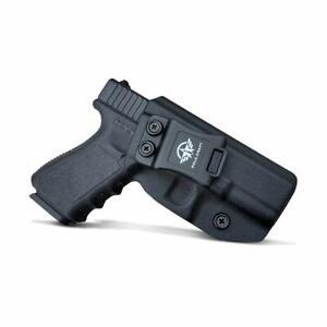 Kydex IWB Holster Carbon Fiber Weaving Glock 19 19X 23 25 32 Concealed Gen 1-5