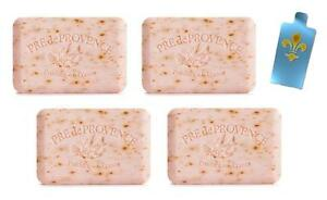 Pre-de-Provence-Rose-Petal-Scent-Fine-French-Milled-Soap-4-250g-Bars