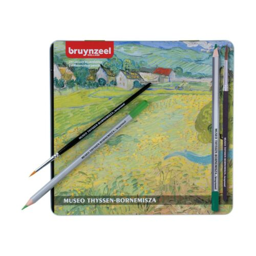 Bruynzeel Museo Thyssen-Bornemisza Colección Lápices Acuarela Color 24 Tin
