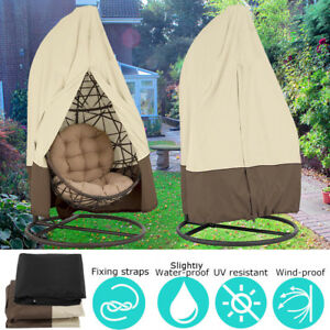 Image Is Loading Hanging Swing Chair Cover Waterproof Rattan Egg Seat
