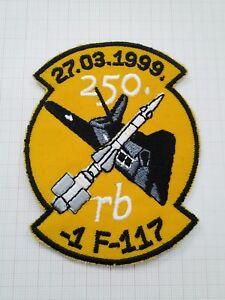 F 117 Serbian Army patch