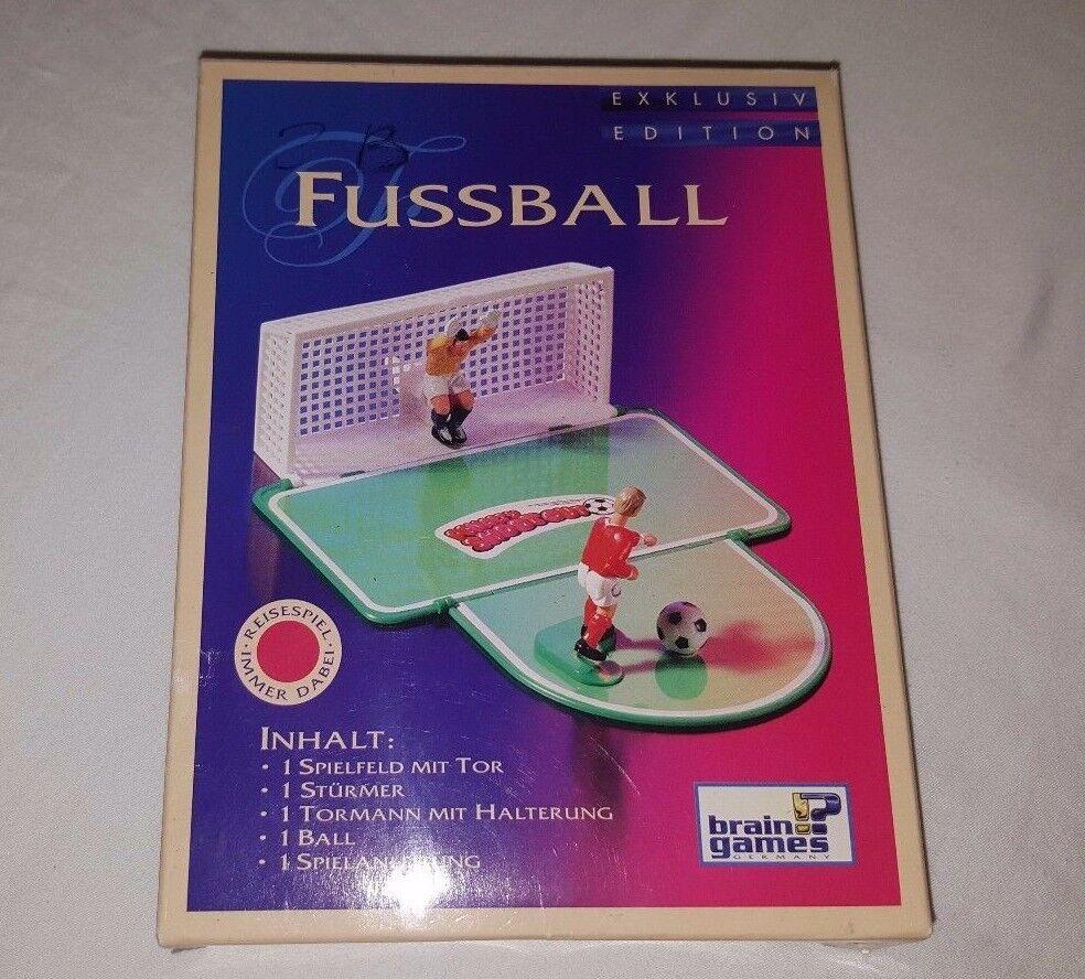 Fútbol Tipp-Kick Vintage Karstadt cerebro Juegos Juguetes de fútbol de placa de penalización GmbH
