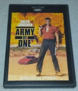Army-of-One-aka-Joshua-Tree-DVD-RARE-opp-DOLPH-LUNDGREN