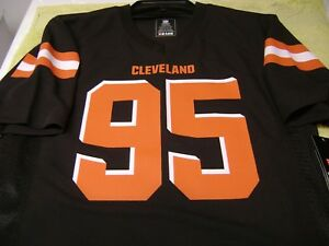 Cheap Myles Garrett # 95 Cleveland Browns Jersey YOUTH MEDIUM NEW NFL  hot sale