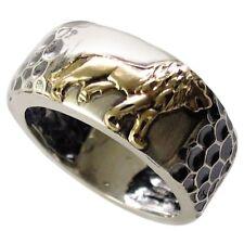 """Handmade """"The Lion of Judah"""" Kabbalah Ring - Jewish Jewelry, Israeli Jewellery"""