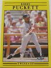 1991 Fleer Kirby Puckett #623 Baseball Card