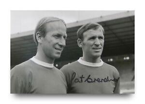 Pat-Crerand-Hand-Signed-6x4-Photo-Manchester-United-Autograph-Memorabilia-COA