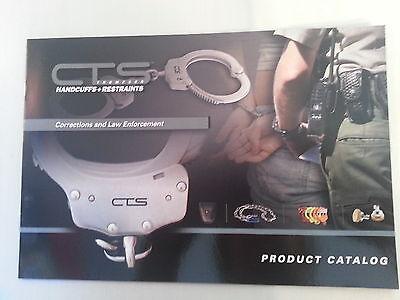Law Enforcement NEW CTS Thompson Handcuffs /& Restraints Product Catalog