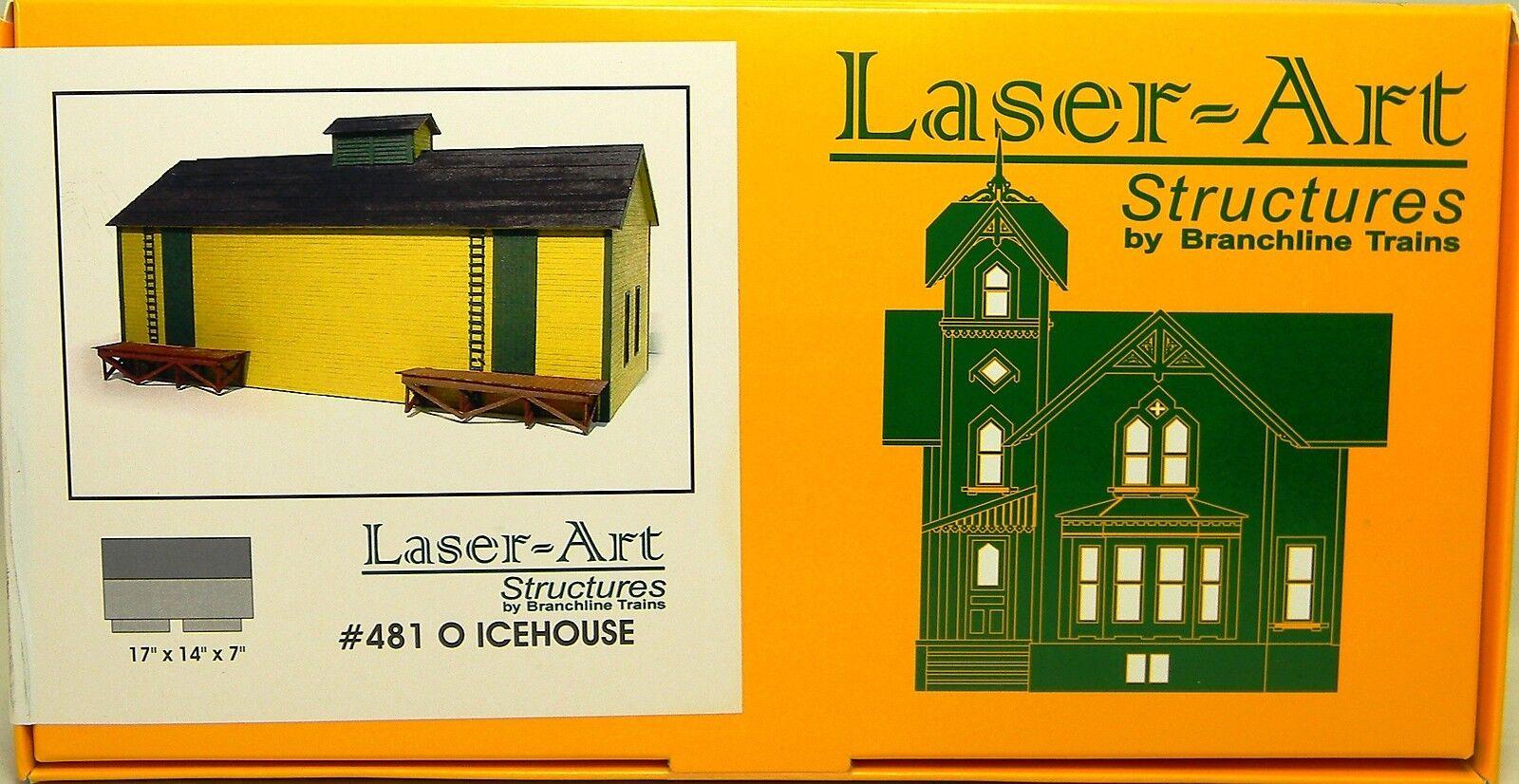 Nuevo En Caja O Branchline Laser-ART  481 Kit De Casa De Hielo