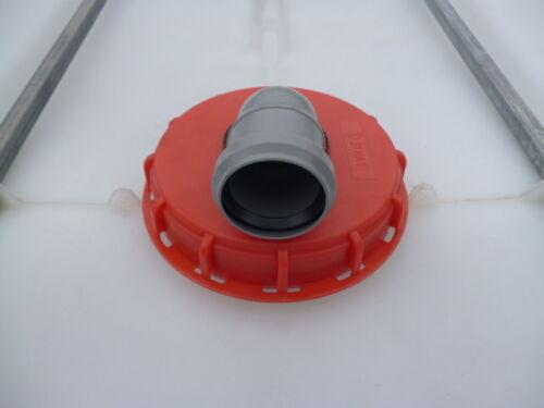 Doppellfilter Filter 50 mm NEU für IBC Wassertank 600 800 1000 Liter NEUHEIT