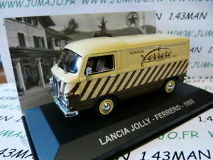 PIT7D-voiture-1-43-Altaya-IXO-Fourgonette-ITALIE-Lancia-Jolly-Ferrero-1960
