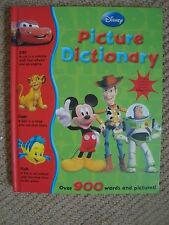 Disney Picture Dictionary 141 pages, hardback, good condition, all characters