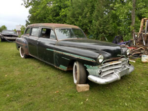 1950 Chrysler Imperial Crown limo. 1 of 250 complete 2 parts car