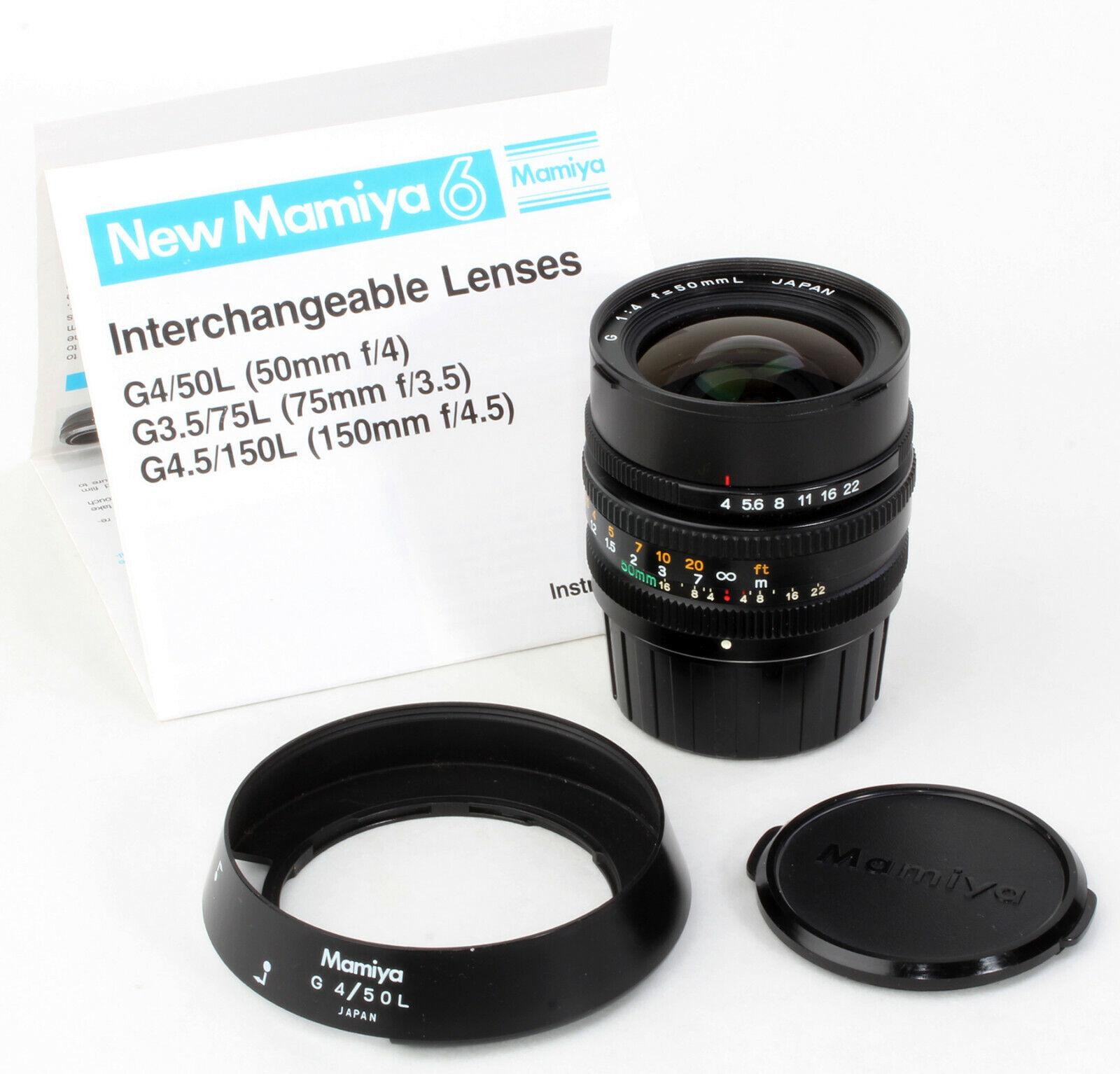 Outlet-Verkauf UK online For Mamiya 6 MF: Mamiya G 1:4 f=50mm L ...