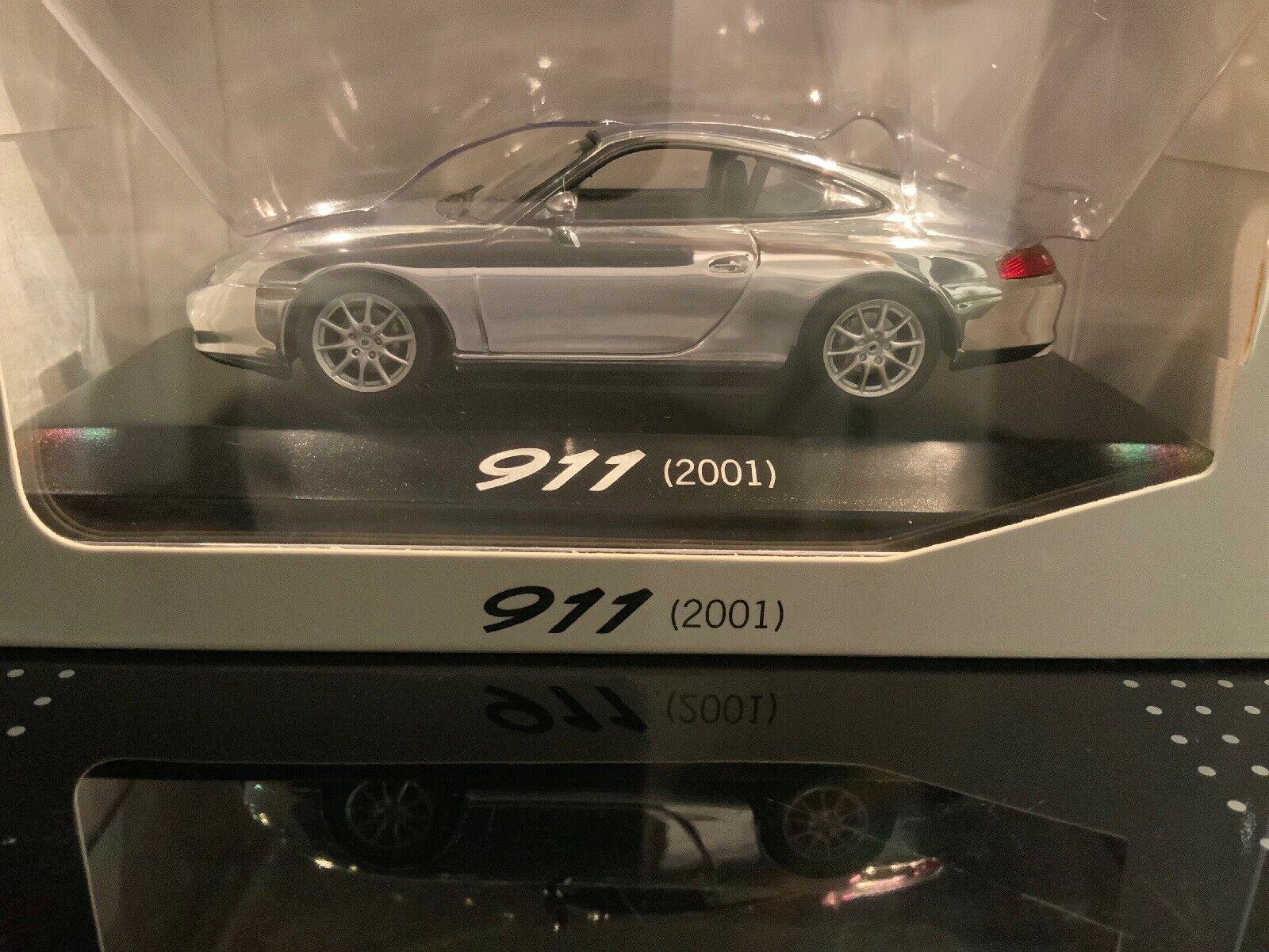 Porsche 911 (2001) Limited Edition 40 Ans 911 Minichamps 1 43 Nouveau neuf dans sa boîte