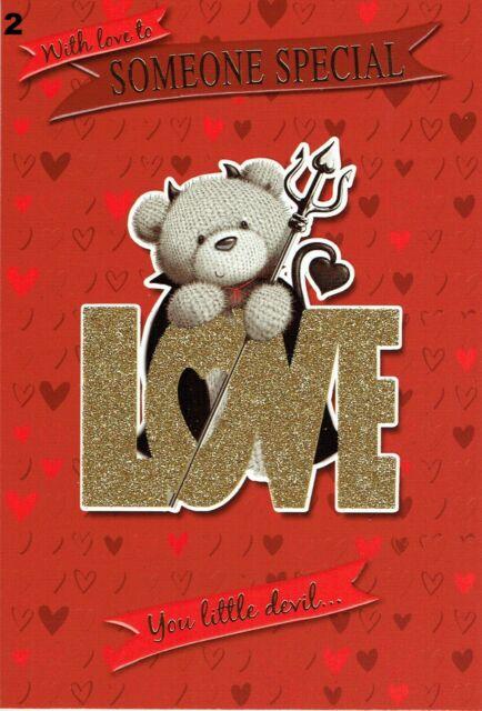 VALENTINE/'S Day Card ~ ONLY 99p Each ~ Choice of DESIGNS ~ Valentine Valentines