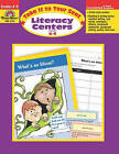 Literacy Centers Grades 4-5: EMC 2724 by Evan-Moor Educational Publishers (Paperback / softback, 2004)