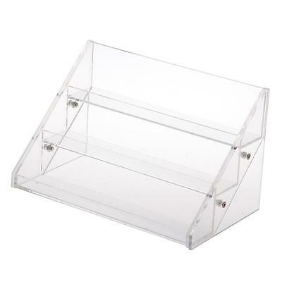 Acrylic Clear 3 Tiers Cosmetic Nail Polish Varnish Display Stand Rack Organiser