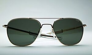 Eyewear Frames Made In Usa : NIB Randolph Engineering 23K Gold Frame Made in USA ...