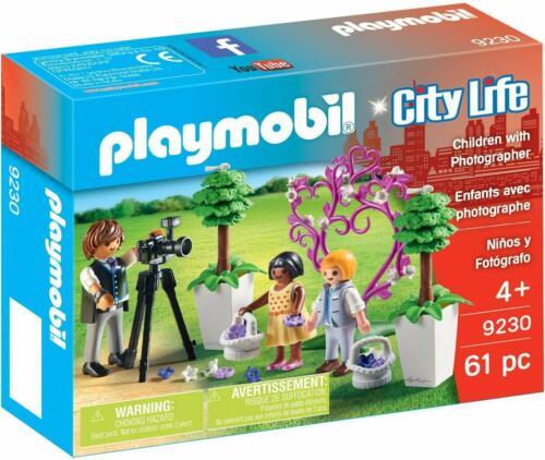 PLAYMOBIL City Life figli dei fiori e fotografo