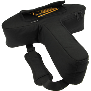 Pistol Crossbow Bag Padded Pistol Xbow Case With Bolt Pocket For 50lb 80lb Bows