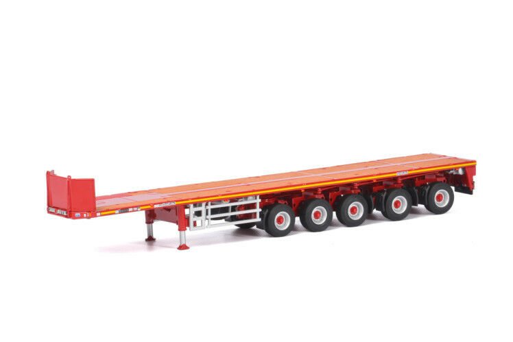 WSI 04-1173 Goldhofer Ballast Trailer (5 Axle) Scale 1 50